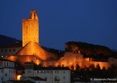 Torre Cassero in Notturna