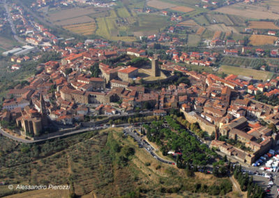 Vista Aerea Castiglion Fiorentino