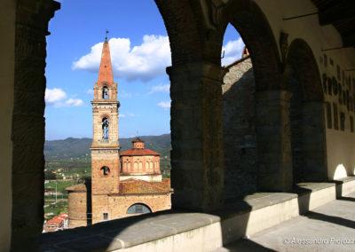 Vista Collegiata Castiglion Fiorentino